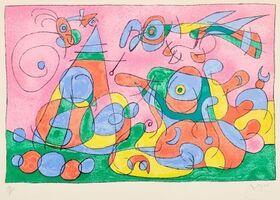 Joan Miró, 'Ubu Roi ', 1966