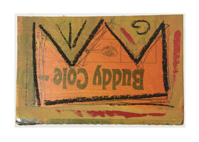 Jean-Michel Basquiat, 'Untitled, Basquiat Crown Postcard', ca. 1979