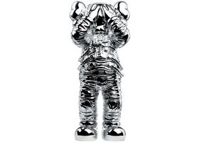 KAWS, 'Holiday Space figure silver', 2020