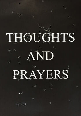 "SARAH MAPLE, ""THOUGHTS AND PRAYERS"", installation view"