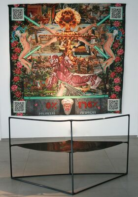 """Lucien Murat """"Oups I did it again"""", installation view"""