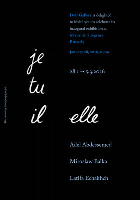 Je Tu Il Elle, Group show, installation view