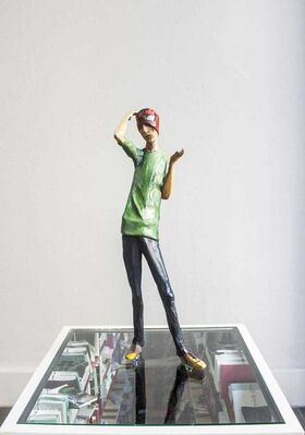 Standing Pine at Art Basel in Hong Kong 2015, installation view