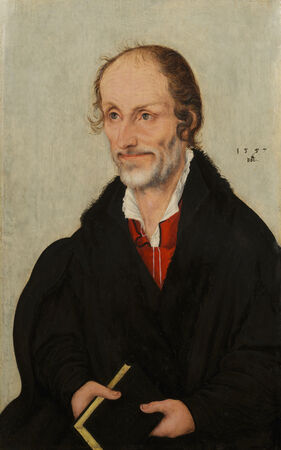 Portrait of Martin Luther and Portrait of Philippe Melanchthon