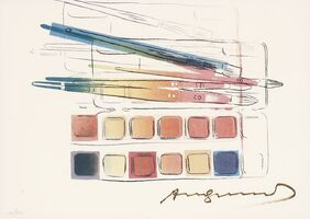 Andy Warhol, 'Watercolor Paint Kit With Brushes (Feldman & Schellmann II.288)', 1984