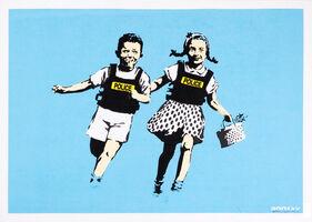 Banksy, 'Jack and Jill (Signed)', 2005