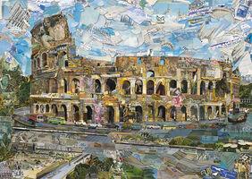 Vik Muniz, 'Rome - Postcards from Nowhere', 2014