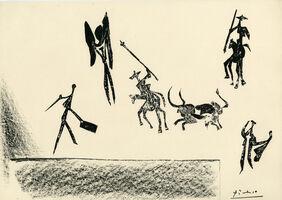 Pablo Picasso, 'Corrida (Bullfight)', 1946