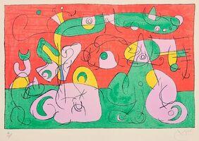 Joan Miró, 'Ubu Roi ', 1944