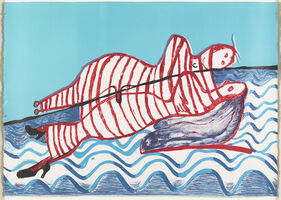 Louise Bourgeois, 'Hamlet and Ophelia', 1996-1997
