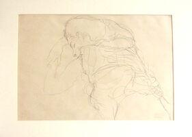 Gustav Klimt, 'Untitled I.II', 1985