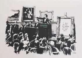 Banksy, 'Morons (Mono)', 2006