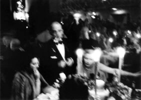 William Klein, 'Charity Ball, Waldorf Ball, New York', 1955