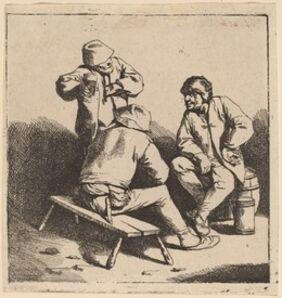 Cornelis Bega, 'The Three Drinkers'