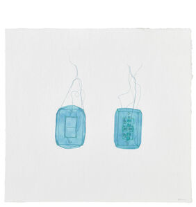 Do Ho Suh, 'Light Switch and Electricity Outlet, 348 West 22nd Street, Apartment A, New York, NY 10011, USA', 2017