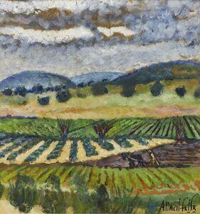Arieh Allweil, 'Vineyards in Israel'