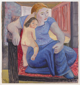 David Park, 'Mother and Child', 1935