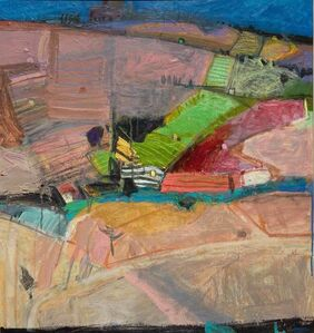 John Brown, 'Patchwork of Vineyards - Collioure', ca. 2018