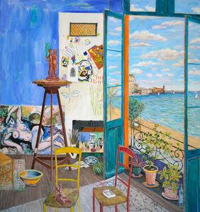 Damian Elwes, 'Matisse's Studio in Collioure', 2020
