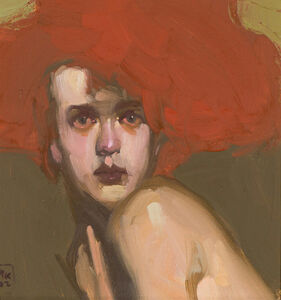 Milt Kobayashi, 'Woman with Red Hair', 199
