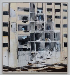Brian Maguire, 'Apartments Aleppo', 2016