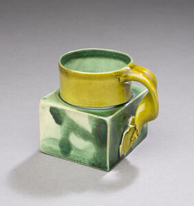 Ken Price, 'Untitled (Mezcal Cup with Square Base)', ca. 1980