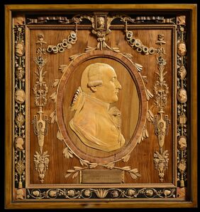 Giuseppe Maria Bonzanigo, 'The Bonzanigo self-portrait, The King of Sardinia Sculptor', Turin, 1786, 1787