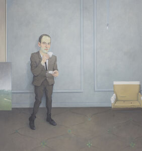 Rodrigo Cunha, 'Homem Com Xícara de Café [Man with a Cup of Coffee]', 2012