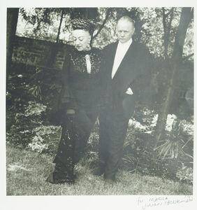 Jillian Edelstein, 'Marika and Dudley Sutton', 1992