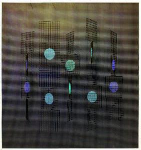 Ivan Contreras Brunet, 'Carres et circles N° 1', 1969