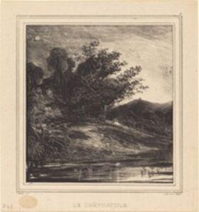 Paul Huet, 'Le Crépuscule', 1829