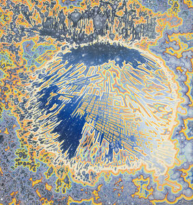 Barbara Takenaga, 'Outlined (for Sarah)', 2018