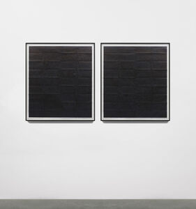 Kathy Prendergast, 'Black Map – Czech Republic ', 2016