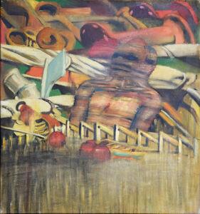 Irving Petlin, 'Composizione (Composition)', 1962