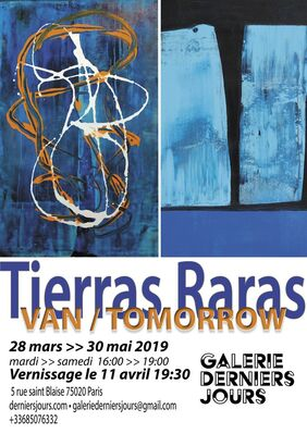 Tierras Raras, installation view