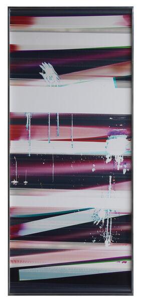 Walead Beshty, 'Cross-Contaminated RA4 Contact Print [Black Curl (9:6/MYC/Six Magnet: Los Angeles, California, May 6, 2014, Fujicolor Crystal Archive Super Type C, Em. No. 107-016, 64514), Kreonite KM IV 5225 RA4 Color Processor, Ser. No. 00092174]', 2014
