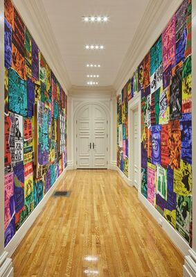 Gary Simmons, installation view