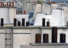 Michael Wolf (1954-2019), 'Paris Rooftops 2', 2014