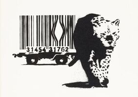 Banksy, 'Barcode (Signed)', 2004