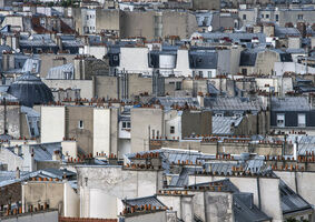 Michael Wolf (1954-2019), 'Paris Rooftops #17', 2014