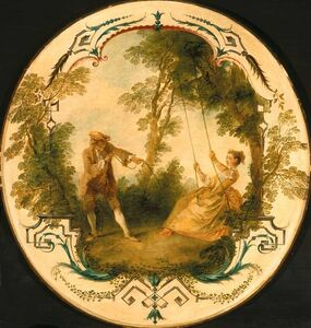 Nicolas Lancret, 'The Swing', ca. 1724