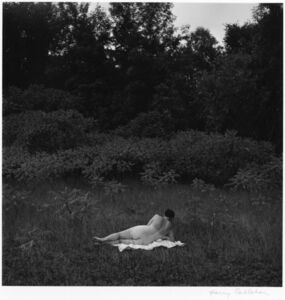 Harry Callahan, 'Eleanor, Port Huron', 1954