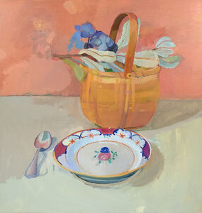 Xico Greenwald, 'Basket with Flowers'