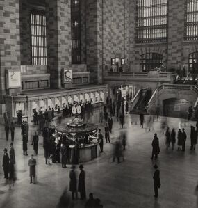 Harold Roth, 'Grand Central Station, New York', 1950