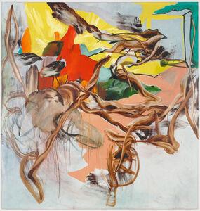 Charline von Heyl, 'Happy End', 2005