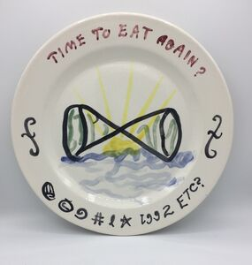 William T. Wiley, 'Time To Eat Again', 1992/1993
