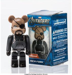 BE@RBRICK X Marvel, 'The Avengers- Nick Fury 100%', 2012
