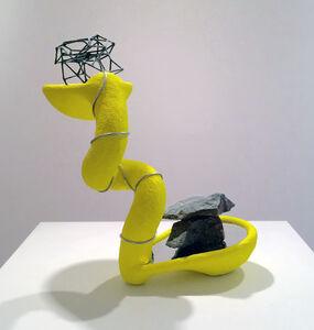 John Newman (b.1952), 'Self-Reflection in Bright Yellow', 2016