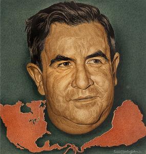 Ernest Hamlin Baker, 'Manuel Avila Camacho, Time magazine cover,  - Journalist Portraiture', 1943