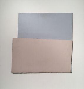 Lucio Pozzi, 'Very Thin Turnover Model 26 Blue', 1978
